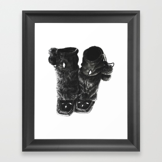 mukluks-framed-prints